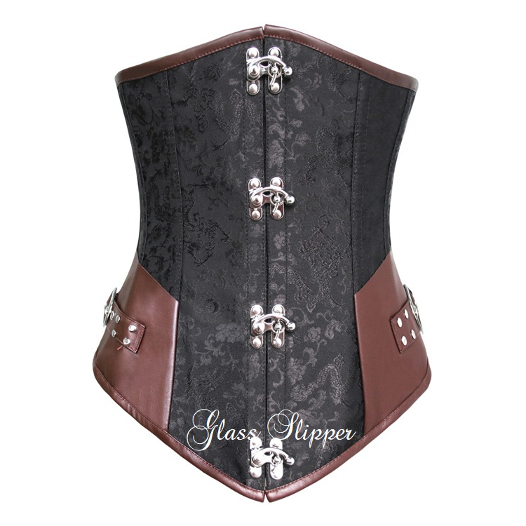 N-310323/STEAMPUNK STEEL BONE CORSET/SML-2XL/R895.95